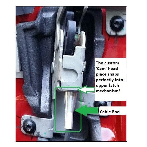 Ford Door Latch Cable Repair Kit F150 E150 Ranger Etc Fgt Motorsport. Ford Door Latch Cable Repair Kit For Fseries Eseries Ranger 4 Ends Repairs Two Cables. Ford. 2008 Ford F 250 Tailgate Parts Diagram At Scoala.co