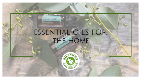 All Organix Essential Oils for the Home