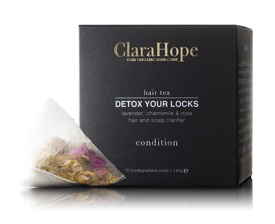 Clara Hope -  Detox your Locks - Conditioning pods - All Organix - 1