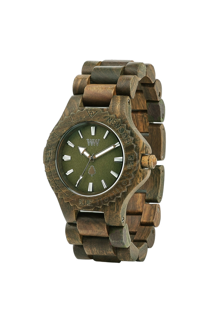 WeWood Watches - Date Army - All Organix
