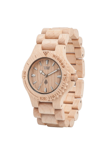 PRE-ORDER - WeWood Watches - Date Beige - All Organix
