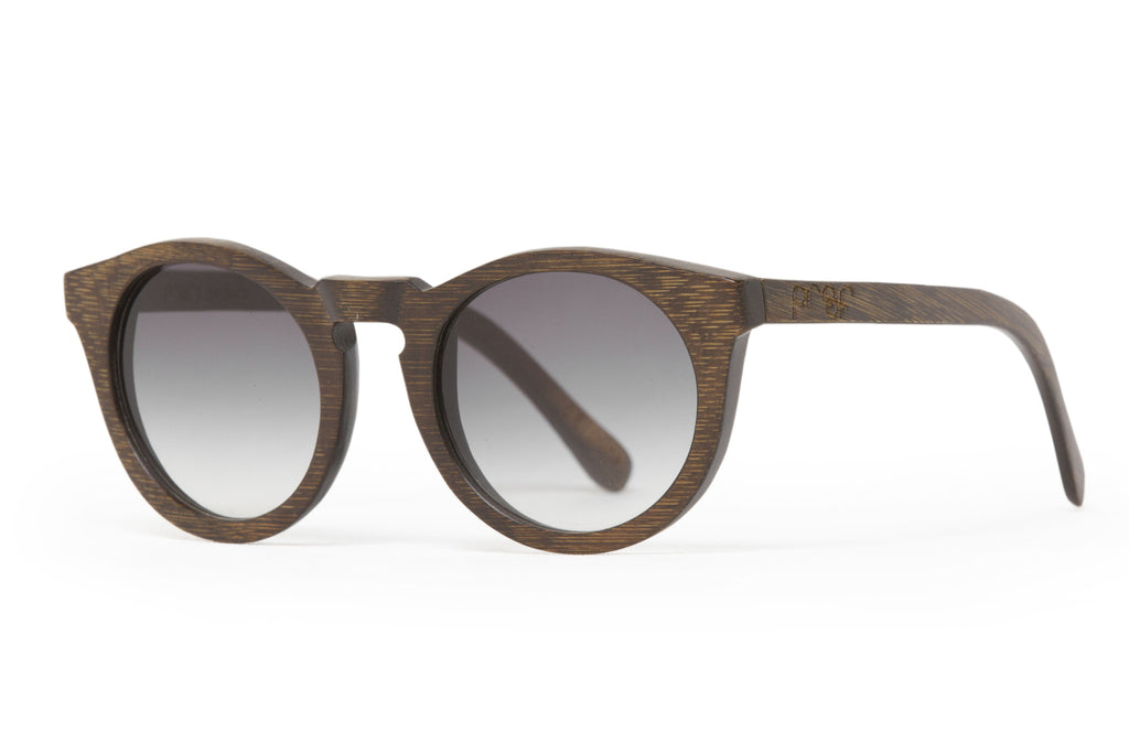 Proof Eyewear - Hayburn Ebony (Grey Lense) - All Organix