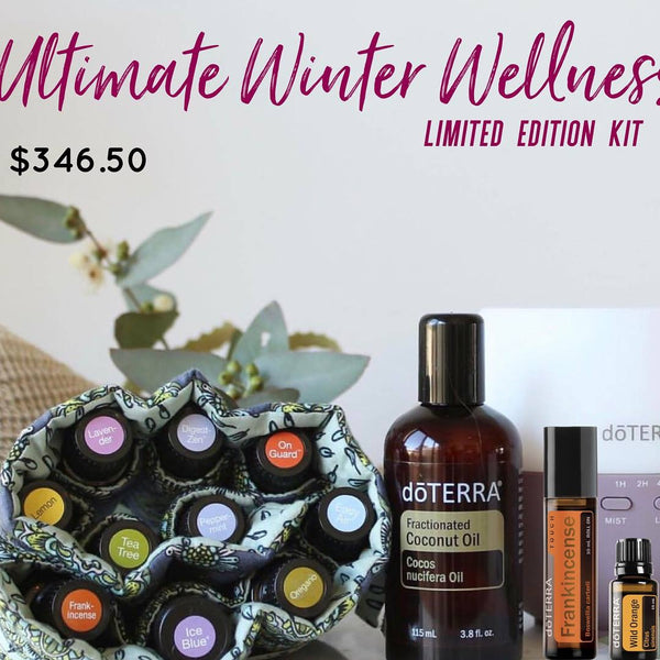 DoTERRA Super Winter Wellness Kit Limited Edition