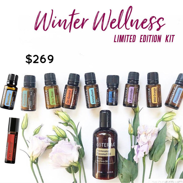 DoTERRA Winter Wellness Kit Limited Edition
