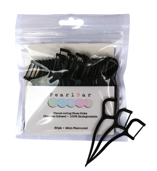 Pearlbar - Floss Picks - 30 pack - All Organix