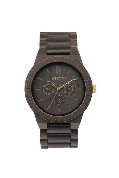PRE-ORDER - WeWood Watches - Kappa Black/Gold - All Organix