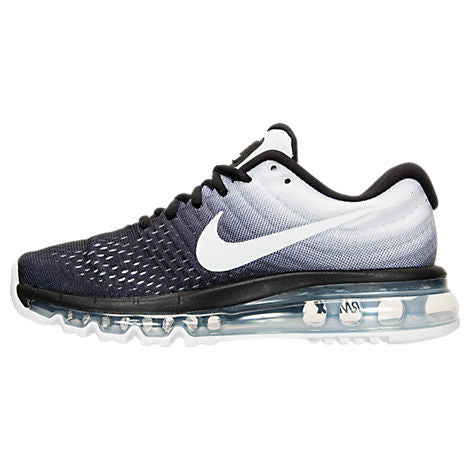 Bling Swarovski Nike Women's Air Max 2017 Black/White Shoes with Swarovski Crystals! Sparkly Nike Customized Shoes! Bling Women's Shoes - Blingitonyou  - 3