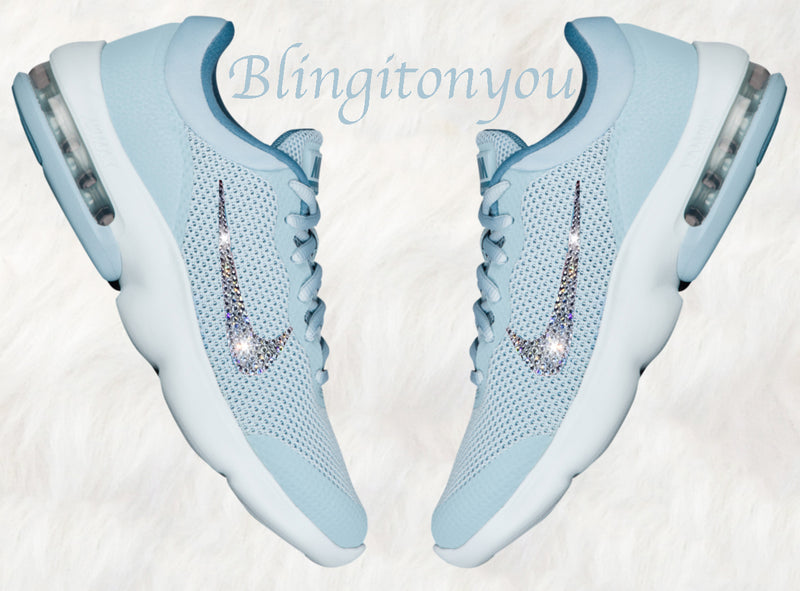 Swarovski Nike Air Max Advantage Women's Shoes Blinged Out With Swarovski Crystals - Swarovski Nike Shoes - Nike Bling Shoes
