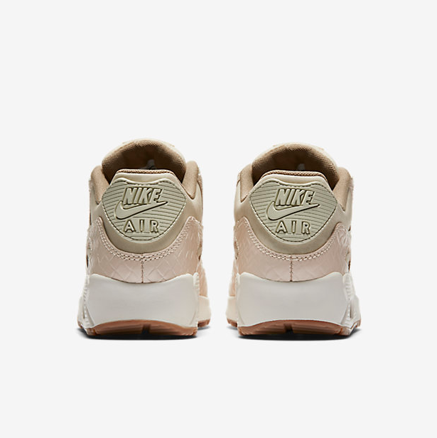 443fb2227ff3 Nude Swarovski Nike Air Max 90 Premium Running Shoes Blinged out with Swarovski  Crystals ...
