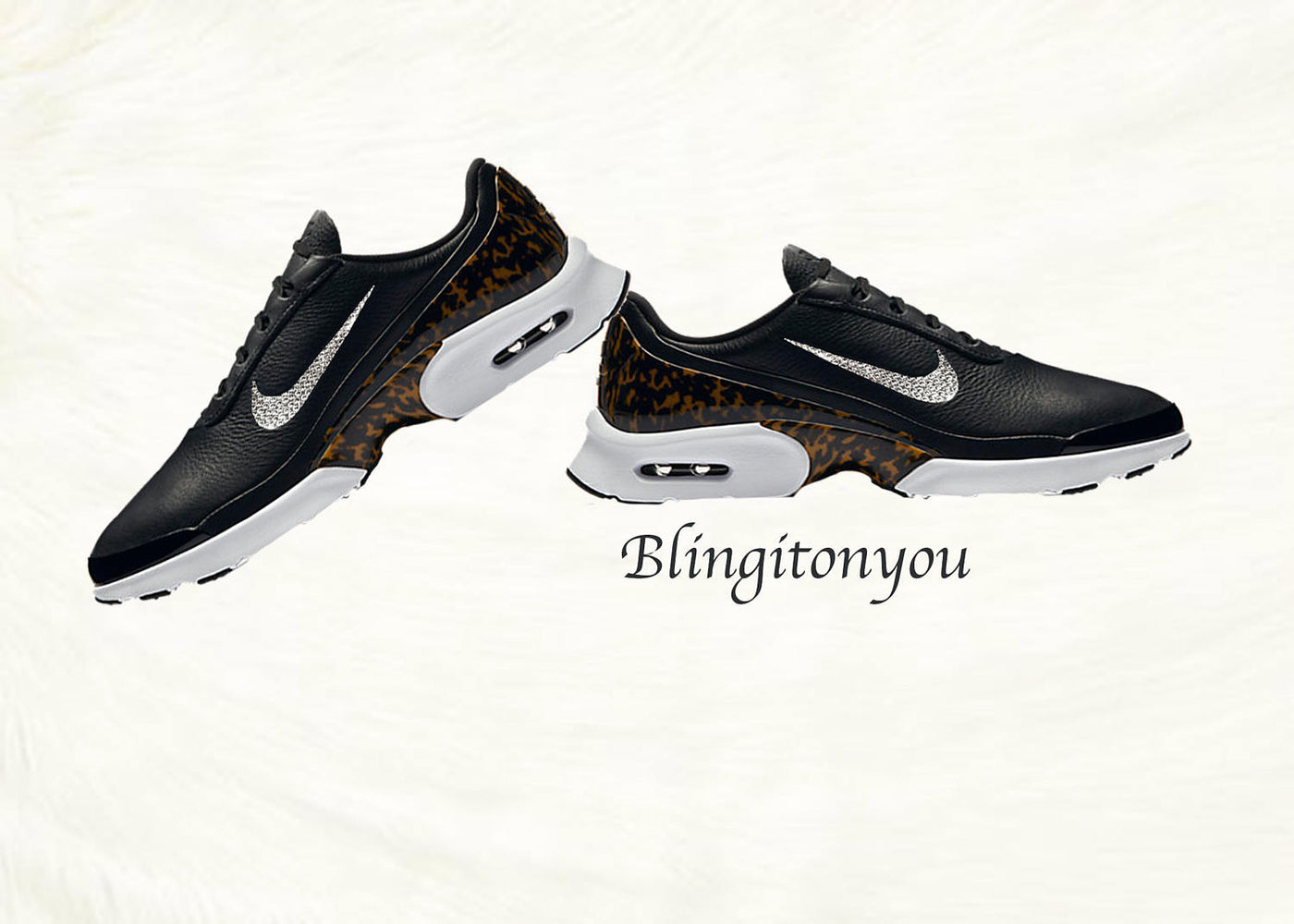 White Leopard Air Maxes | Indian Television Dot Com