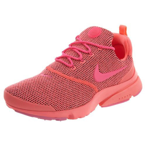 Swarovski Nike Presto Fly Women s Shoes Pink   Red Blinged Out With  Swarovski Crystals - Swarovski Nike Shoes - Nike Bling Shoes 2870360a1843
