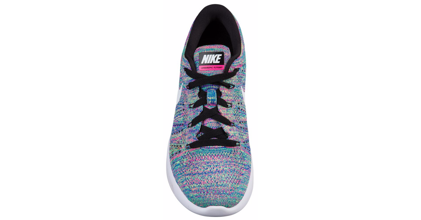... look out for 01646 9835c Blinged Womens Nike Lunarglide Lunarepic Low  Flyknit Shoes Bedazzled with Swarovski ... abad780e932c