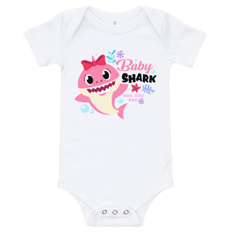 """Baby Shark"" Inspired Baby Onesie 
