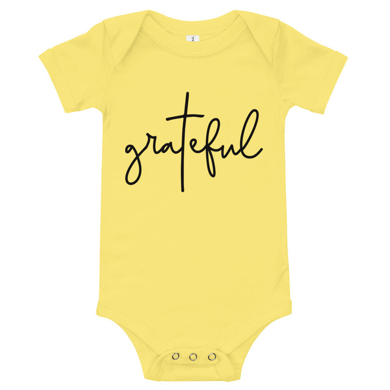 """Grateful"" Onesie 