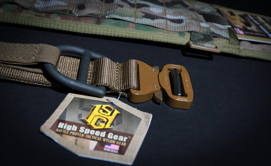 High speed gear cobra 1 5 rigger belt with interior - Cobra 1 75 rigger belt with interior velcro ...