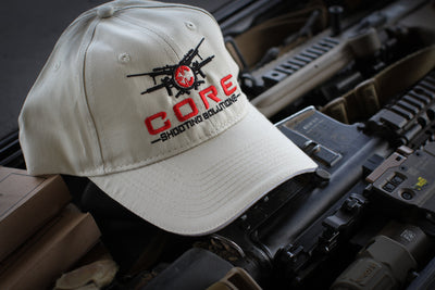 "CORE ""The Morgan"" Sand Full Logo Hat"