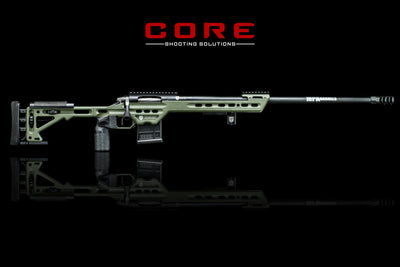Masterpiece Arms BA Competition Bighorn TL3 6.5 Creedmoor Green Photo