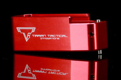 Taran Tactical PMAG Extension AR15 Red Photo