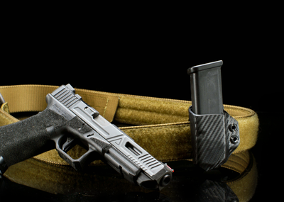 Alex and Ryan Design Kydex Single Pistol Mag black Carrier photo 2