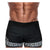 Men Swimwear Beach Short - Danny Miami luxury brand - Swimwear gym workout shorts  - Black Greek