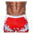 Men Swimwear Beach Short - Danny Miami luxury brand - Swimwear gym workout shorts  - Crown Red