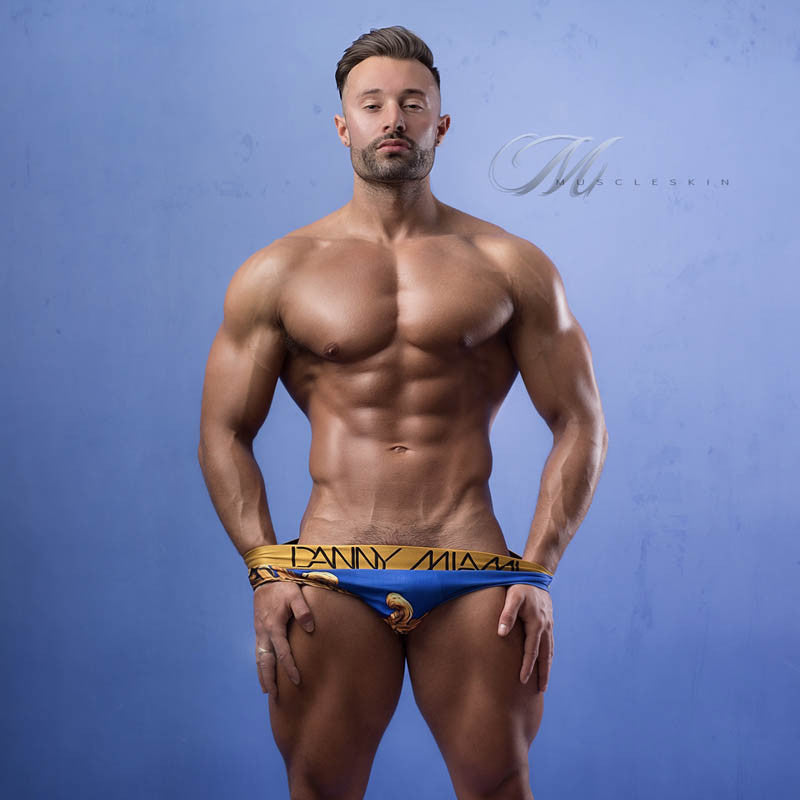 Royal Blue - Underwear Brief -  TOP Fashion Brand DANNY MIAMI  - Undies with sexy low cut