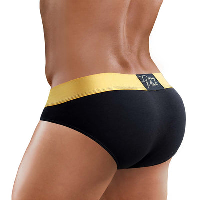 3Pack GOLD BLACK Mini Brief
