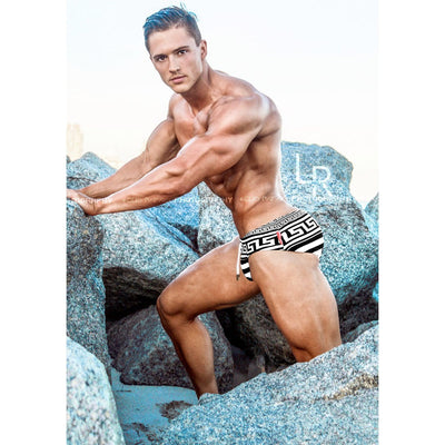 men swimsuit - Luxury Brand - Swim brief - Danny Miami - Made in USA - Swimwear for men - Greek God