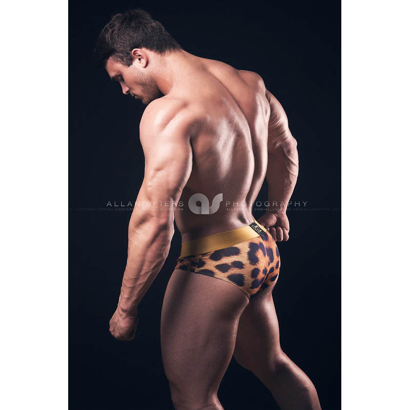 Cheetah - Underwear Brief -  TOP Fashion Brand DANNY MIAMI  - Undies with sexy low cut
