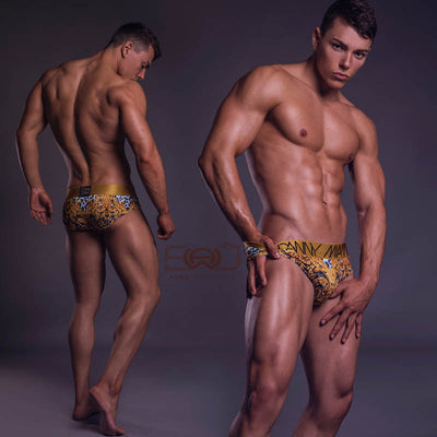Leopard - Underwear Brief -  TOP Fashion Brand DANNY MIAMI  - Undies with sexy low cut