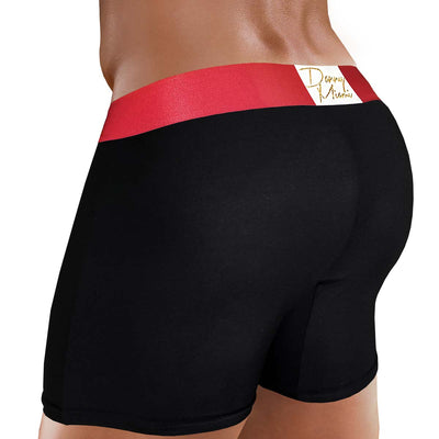 3PACK Red Black Long Boxer Promo