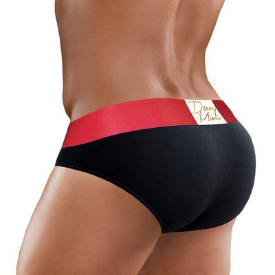 3Pack RED BLACK Mini Brief