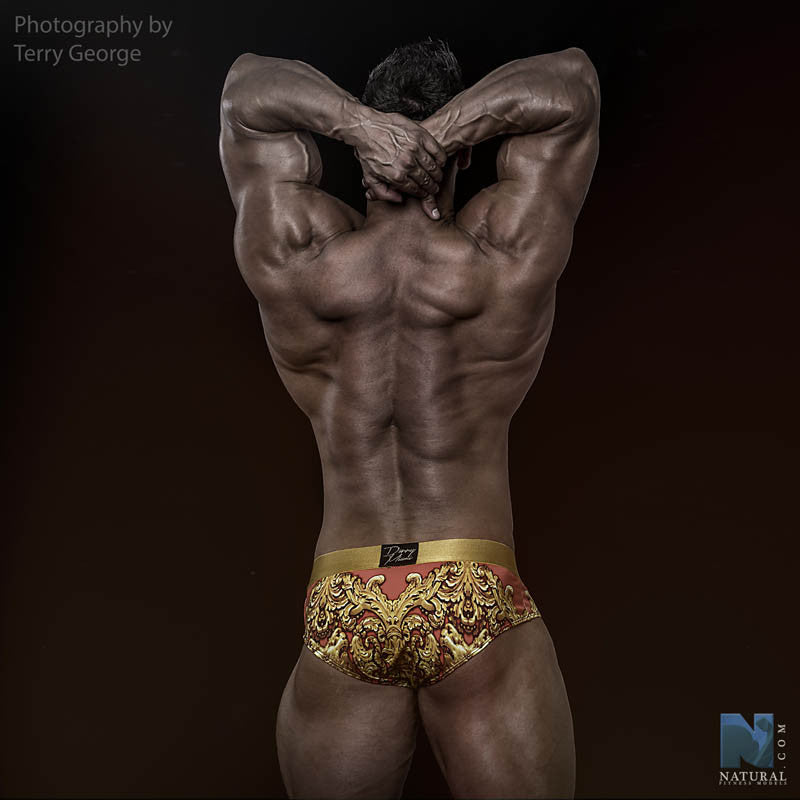 Royal Coral - Underwear Brief -  TOP Fashion Brand DANNY MIAMI  - Undies with sexy low cut