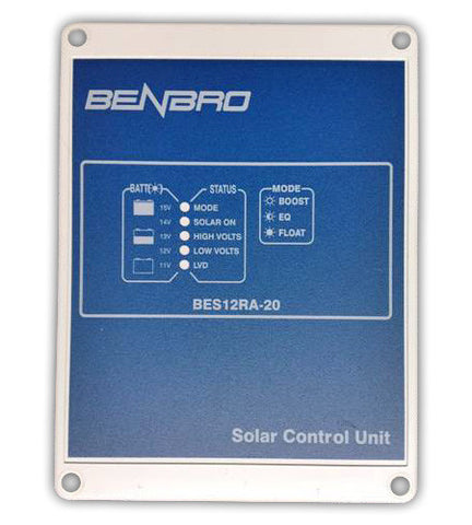 1 Stage 20A Solar Charge Regulator, BPS12RA-20