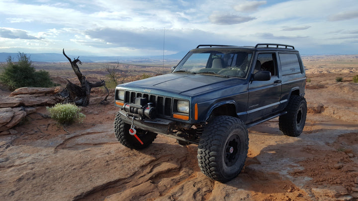 BleepinJeep Goes To Moab With TreadWright Tires