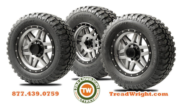 New TreadWright Claw II MT Series Tires: 100% American Made, American Rugged