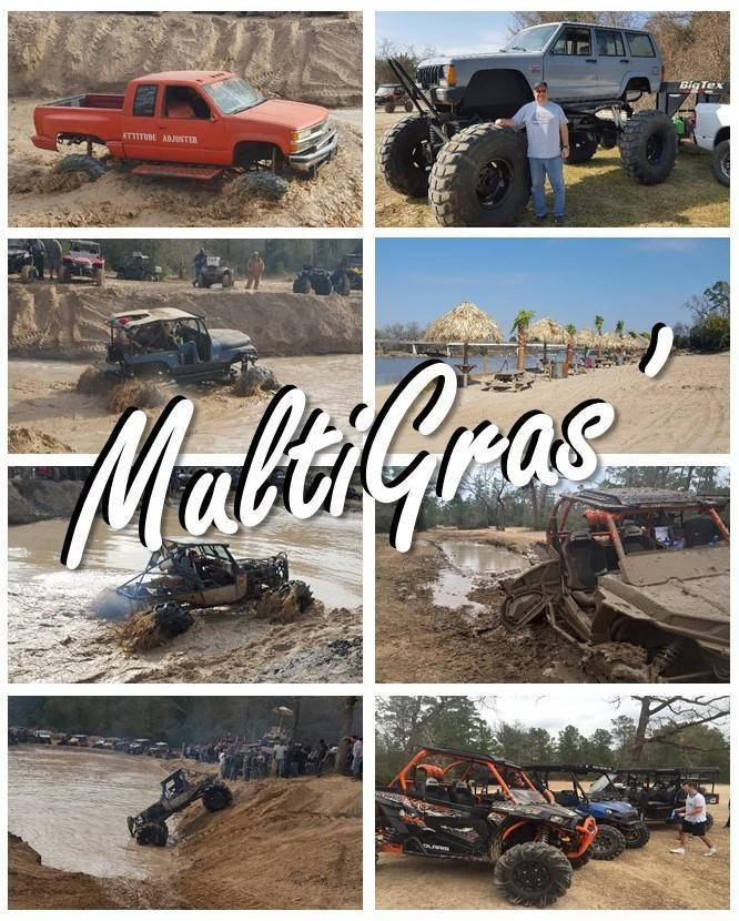 TreadWright supports multiple MardiGras' mudding events in Texas