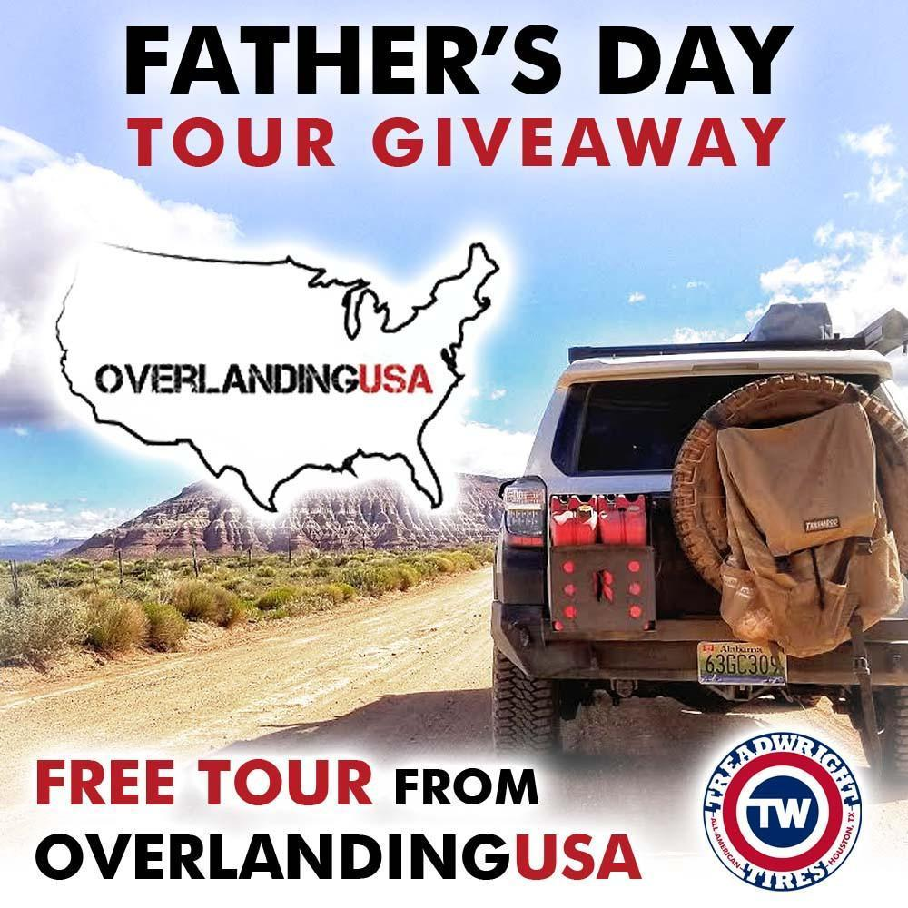 Enter To Win a Guided Trip from Overlanding USA by TreadWright Tires