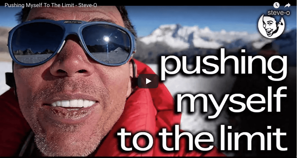 Steve O, Chuck Liddell and other Celebrities climb a 20,000 Foot Peak