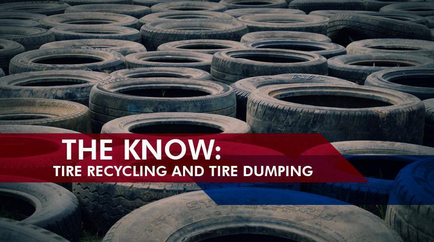 Tire Recycling and Tire Dumping Problems | TreadWright Tires