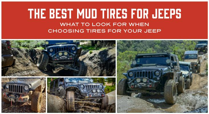 The Best Mud Tires For Jeeps