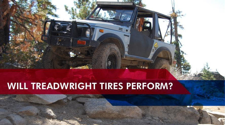 Top Off Road Podcast Test TreadWright Tires (2017)