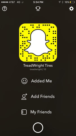 Follow Us on Snap Chat!