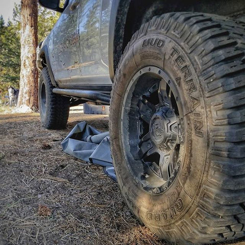 TreadWright Tires on Overlanders Rig