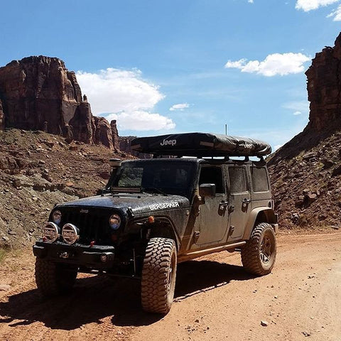 Berserker OffRoad with Rig with TreadWright Tires