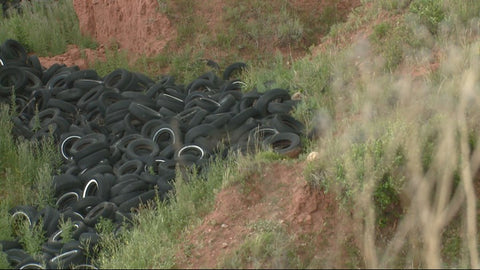Tire Dumping in Colorado
