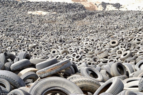 Another look at Kuwait Tire graveyard