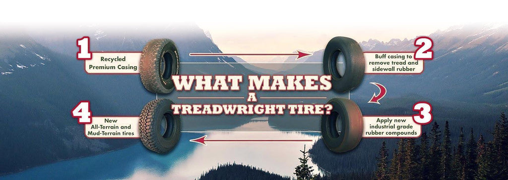 How Do Retread Tires Work? | TreadWright Tires