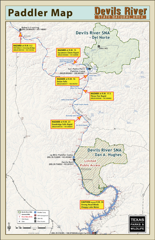 Devils River Map