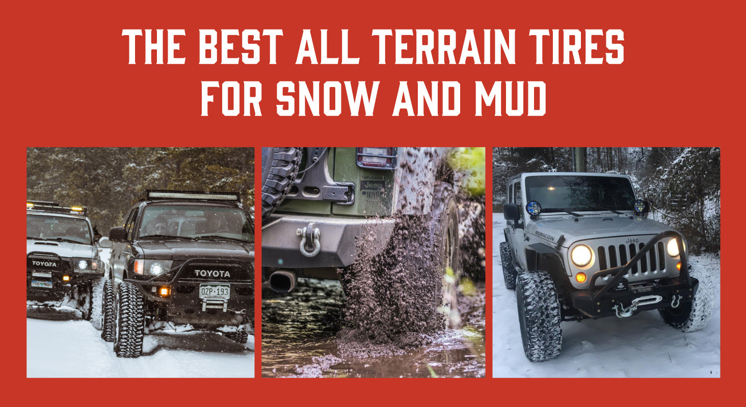 Best Off Road Snow Tires >> The Best All Terrain Tires For Snow And Mud Treadwright Tires